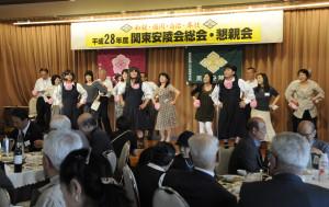 6月4日関東安陵会懇親会~キャンディーズ(福永、鶴、平岡)公演16-3